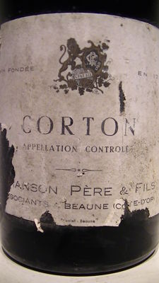 1959 Corton Grand Cru - Chanson -  Legendary vintage