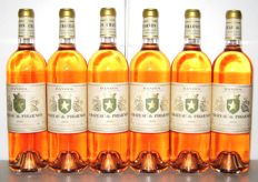 2016 Bandol Château Pibarnon (Rosé) - Lot of 6 bottles