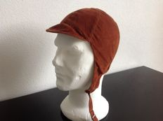 Molton driving Helmet   New from Oldstock  size 58  Cognac Brown