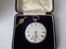 Hunter & Edwards London  — pocket watch. ref no 254. — men — 1841