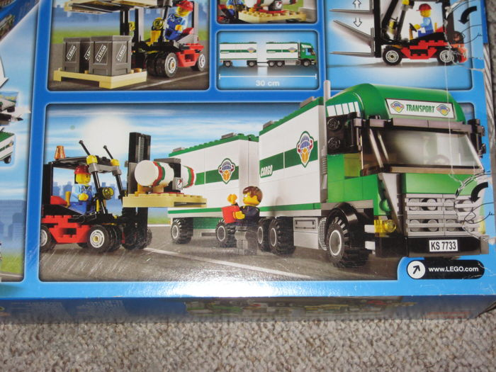 City 7733 7992 Truck Forklift Container Stacker Catawiki