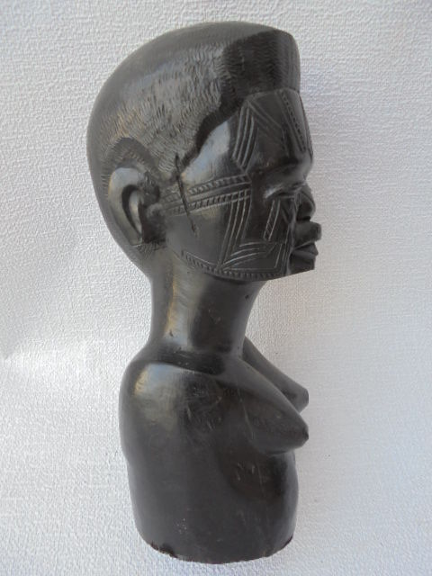 Ebony female MAKONDE sculpture - Tanzania