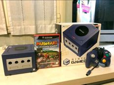 Nintendo GameCube boxed with Mario Kart - Double Dash