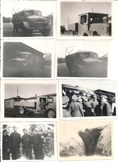 Third Reich; Lot of 38 x original photos German Wehrmacht, Kriegsmarine, Luftwaffe in France, Russia and Norway WWII