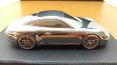 2012 Porsche 911 991 Carrera S - solid aluminium Paperweight in luxury gift packaging - scale 1/43