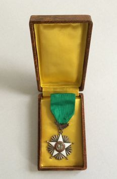 Senegal medal Ordre de Lion, introduced in 1960
