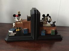 Disney, Walt - 2 Bookends - Mickey & Minnie Mouse (ca. 1980s/'90s)