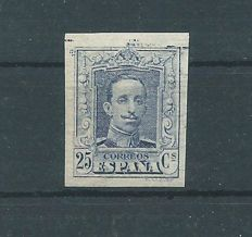 Spain 1922/30 – Alfonso XIII, Váquer style, value not issued – Edifil No. NE 24s.