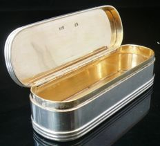 Antique Silver Snuff Box, London 1797, Cornelius Bland