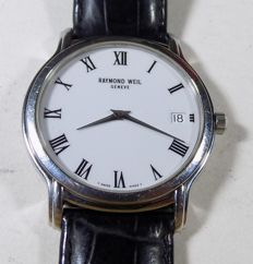 Raymond Weil 5569 - Classic - Pure White - 1990's - Men's Wristwatch