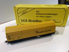 Lux H0 - 9010 - Rail grinding wagon, of the DB - digital (1162)
