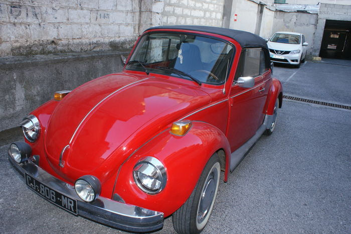 volkswagen coccinelle cabriolet 1975 catawiki. Black Bedroom Furniture Sets. Home Design Ideas