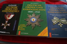 German orders and decorations 1800-1945 (OEK) + catalogue of German medals and decorations. From 1871 until the present, first time in the Federal Republic + German orders and decorations - Softcover