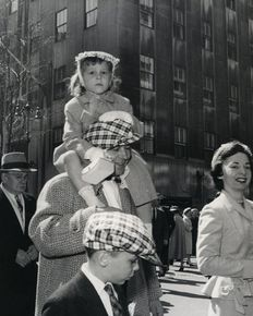 'Nelly's' Elli Sougioultzoglou-Seraidari (1899-1998) - New York Easter Parade, 1953