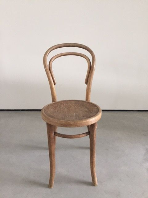 Thonet Style Bentwood Classic Cafe Chair, End 19th Century