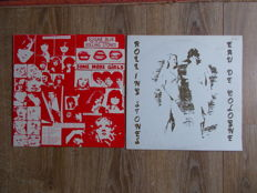 "The Rolling Stones Lot Of 2 Lp  :  ""Live In Cologne 1976"", Limited Edition 500 Copies , And ""Some More Girls"""