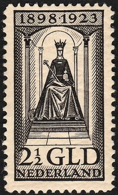 The Netherlands 1923 – Anniversary of the reign – NVPH 130