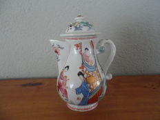 Rare Franklin mint porcelain tea pot in Chinese style
