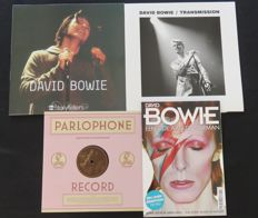 David Bowie - Great lot of 2LP's, 1x 10inch EP and 1 Glossy 'Een Ode aan De Starman'