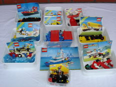 Classic Town - 15 sets incl. 6389 + 6481 - Fire Control Center + Construction Crew