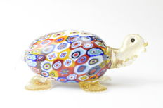 "Livio Campanella (Campanella Glassworks) - ""Turtle"" Sculpture"