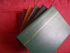 Accessories - lot of 6  used binders of 62 pages black base (empty), nearly new