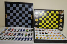 Collection chess - Marvel Saga and Chupachups