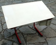 Joe Colombo for Bieffeplast – desk/ drafting table