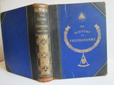 Robert Freke Gould - The History of Freemasonry. Its Antiquities, Symbols, Constitutions, Customs, Etc.   - Volume 1 -  (1880)