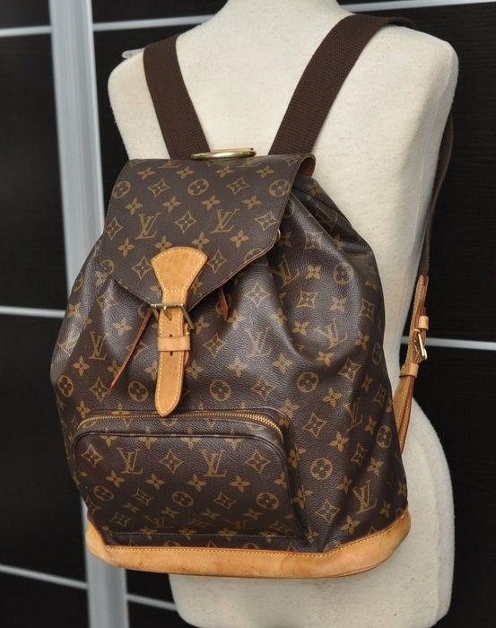 Louis Vuitton - Montsouris Zaino GM Monogram Canvas Unisex - Catawiki 18ded5a0061