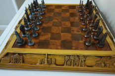Chess of art and historical traditions of Andalusia