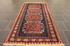 Beautiful, antique hand-knotted oriental carpet - Turkey - Anatolia - circa 1920-30 - old rug - 95 x 190 cm - wool on wool