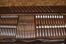 Christofle PARIS - 84 pieces/12 people - flatware