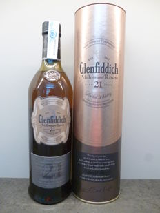 Glenfiddich 21 years Millennium Reserve - Limited Edition