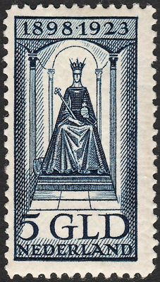 The Netherlands, 1923 – Anniversary of the reign – NVPH 131