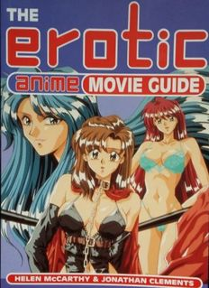 Manga; Jonathan Clements - The Erotic Anime Movie Guide - 1998