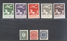 Denmark - Selection - Facit catalogue no. 177-183 + 184-193 + 213-217 + 218-220