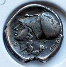 Ancient Greece, Acarnania Thyrrheion AR stater, 350-306 BC