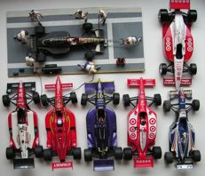 Divers - Scale 1/18 - Lot with 5 models: 5 x Indy cars