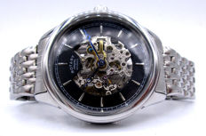 Rotary - Automatic Swiss Made / Skeleton - Men's Timepiece *** No Reserve Price ***