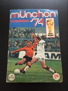 Variant of Panini - Vanderhout - Worldcup Munich 74 - Complete collection album.
