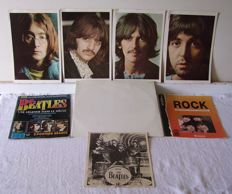 Lot / double album the BEATLES 1968 + reviews + photos