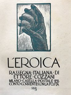 L'Eroica Issue n. 163 year 1932 of the Collection Fondo Ettore Cozzani