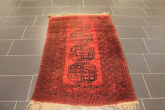 Beautiful old handwoven Art Deco oriental carpet 100 x 150cm – Afghan, made in Afghanistan