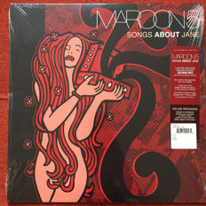 Maroon 5 - Songs About Jane - Limited Edition Maroon-color vinyl - Still Sealed!