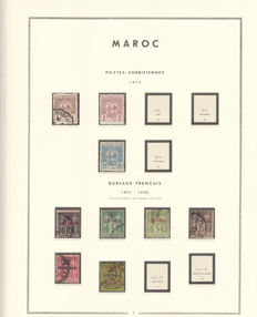 Morocco, 1912 / 1952 – Collection of stamps.
