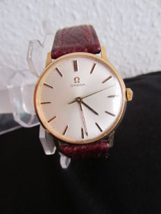 Omega, 18 kt gold – Omega calibre 601 – Men's wristwatch – Year: 1967