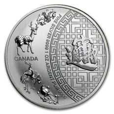 Canada - Royal Canadian Mint - 5 CAD - Five Blessings 2016 - 999 Silber / Silbermünze