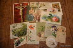 Collection of 250 communion cards - saint cards - memorial cards - image religieux - Andachtsbilder, Spötl, Kunst Adelt, Gouppy, Poellath
