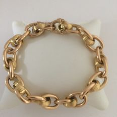 Vintage 18 kt yellow gold bracelet